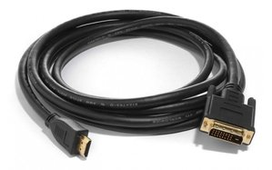 Silent Wire HDMI to DVI-D connector