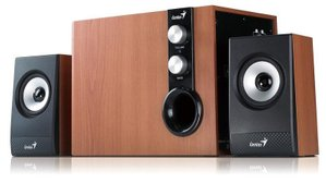 Колонки Genius 2.1 SP-HF1250B II Wood