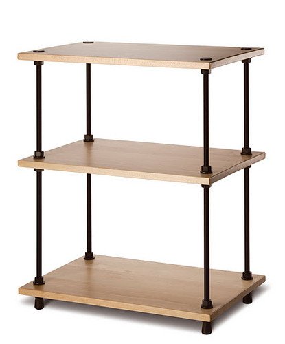 Salamander Archetype Three Shelf Rack