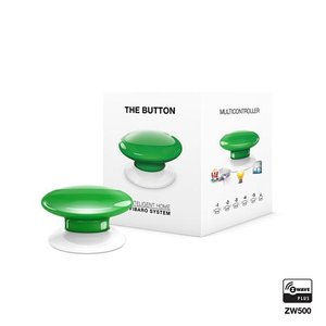 Розумна кнопка Fibaro The Button, Z-Wave, 3V ER14250, зелена