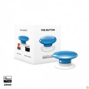 Розумна кнопка Fibaro The Button, Z-Wave, 3V ER14250, синя
