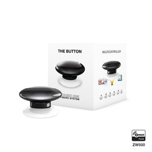 Розумна кнопка Fibaro The Button, Z-Wave, 3V ER14250, чорна