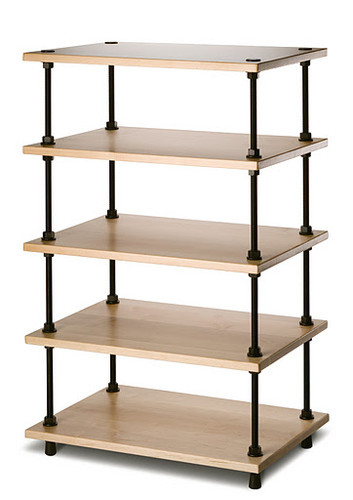 Salamander Archetype Five Shelf Stand