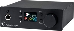 Pro-Ject Pre Box S2 Digital Black, Чорний