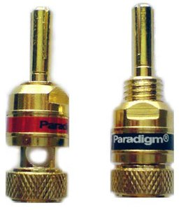Paradigm Banana Plugs HD-355 Gold