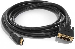 Silent Wire DVI-D to HDMI connector
